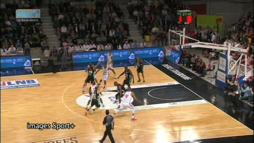 Basket: Strasbourg s'impose face à l'ASVEL