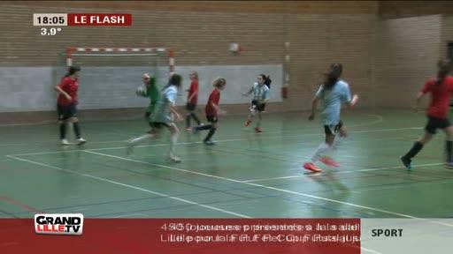 Les footeuses à l'honneur à Lille!