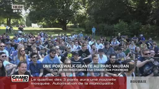 Une Pokewalk géante au parc Vauban