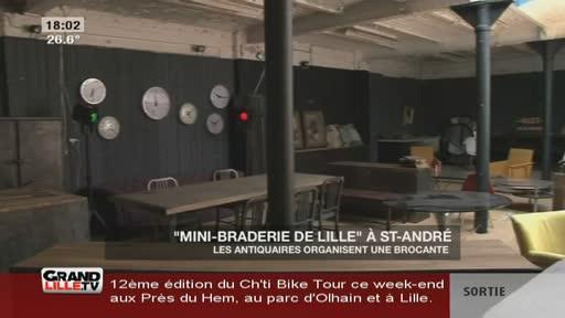 Une mini-braderie de Lille à Saint-André
