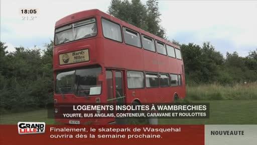 Des logements insolites à Wambrechies