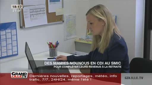 Des mamies nounous en CDI au SMIC