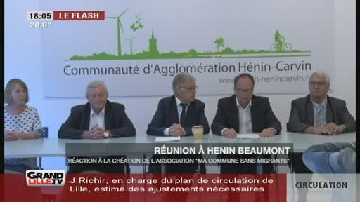 Réunion à Hénin Beaumont contre l'association de Briois