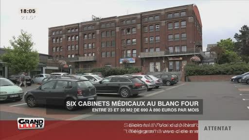 6 cabinets médicaux au Blanc Four