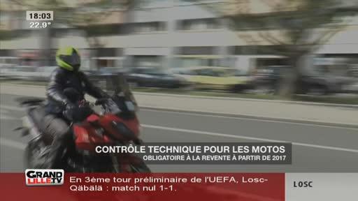 Le contrôle technique pour les motos bientôt obligatoire