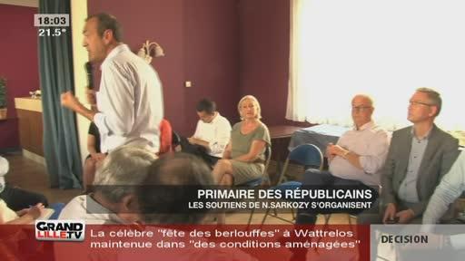 Les soutiens de Sarkozy s'organisent (Nord)