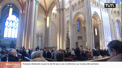 Fin de la 2è tranche du chantier de la cathédrale Saint Jean
