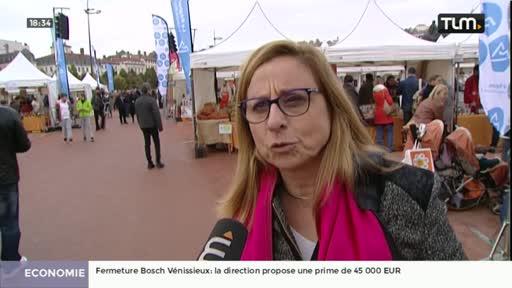 Le marché des saveurs de Lyon