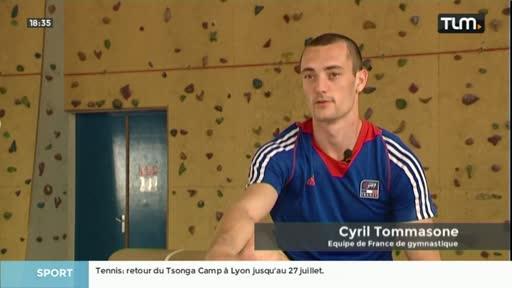 Le lyonnais Cyril Tommasone espoir de médaille aux JO