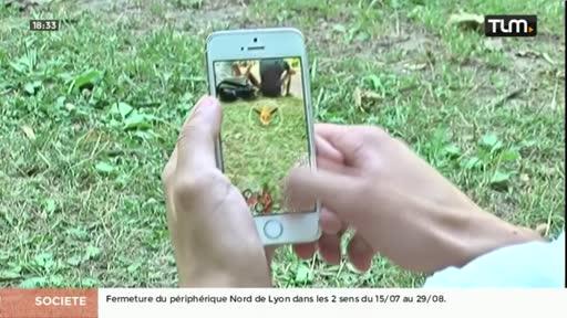 La folie Pokémon Go débarque à Lyon