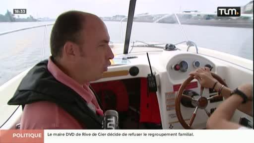 Gros plan sur le permis bateau