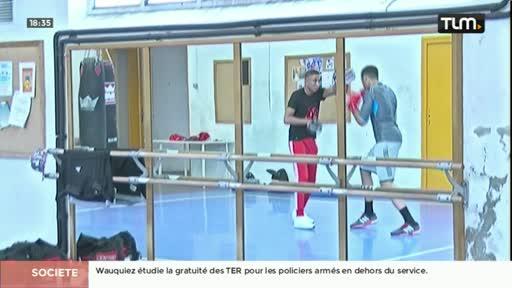 Un jeune boxeur lyonnais espoir de médaille aux JO