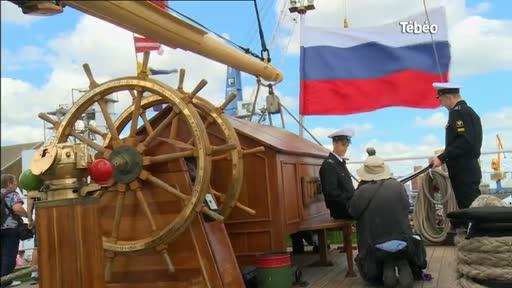 Fêtes Maritimes de Brest 2016 : Visite du Village Russe
