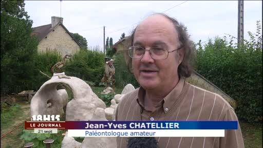 Nord Sarthe : Rencontre avec un passionné de dinosaures