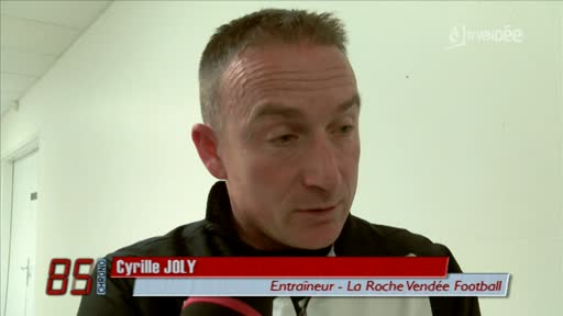 Le Poiré-sur-Vie vs La Roche-sur-Yon (2-1) : Cyrille Joly